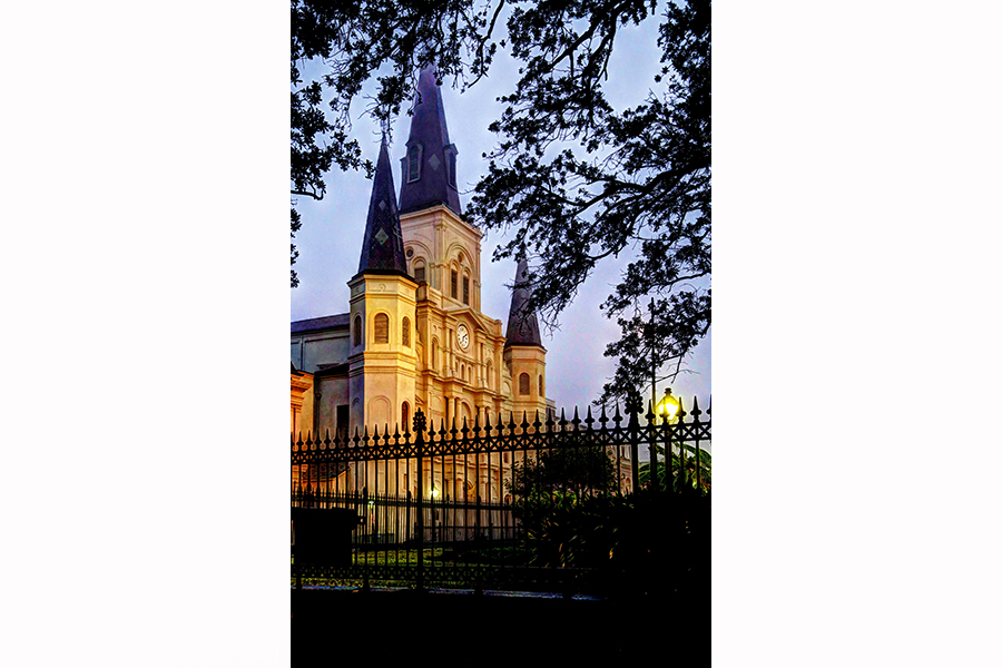 St. Louis Cathedral at Dawn