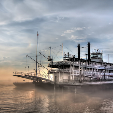 The Natchez Paddleboat at Sunrise