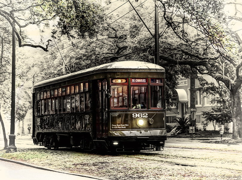 Streetcar on St. Charles